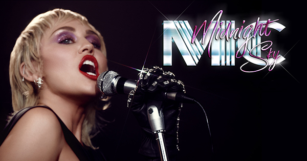 "Miley Cyrus publica ""Midnight Sky"""