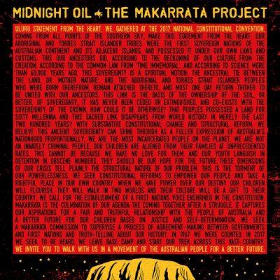 Portada de The Makarrata Project
