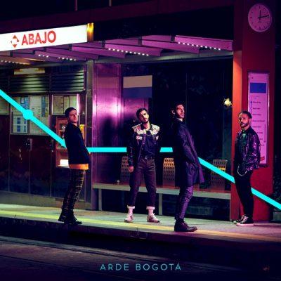 """Imagen de la portada del single """"Abajo"""" de la banda española Arde Bogotá"""