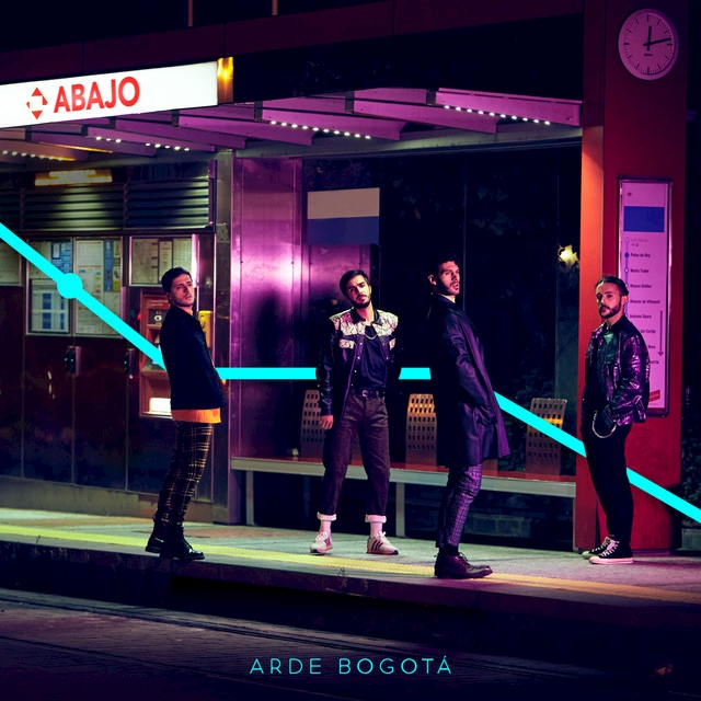 """Arde Bogotá presenta """"Abajo"""", nuevo single y vídeo de su próximo álbum"""