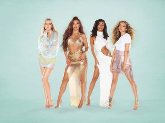 Imagen de grupo británico Little Mix