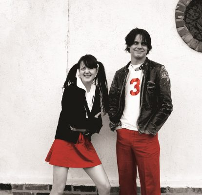 The White Stripes Greatest Hits Photo #2 by Pieter M van Hattemmedia