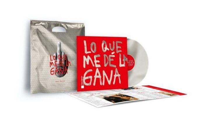 Imagen de edición vinilo con bolsa sorpresa del álbum Lo que me dé la gana de Dani Martín