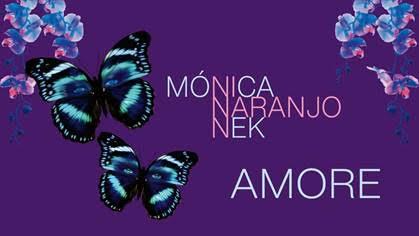 """Portada de la canción """"Amore"""" de Mónica Naranjo y Nek"""
