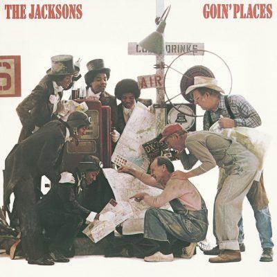Portada de Goin' Places, edición digital de The Jacksons