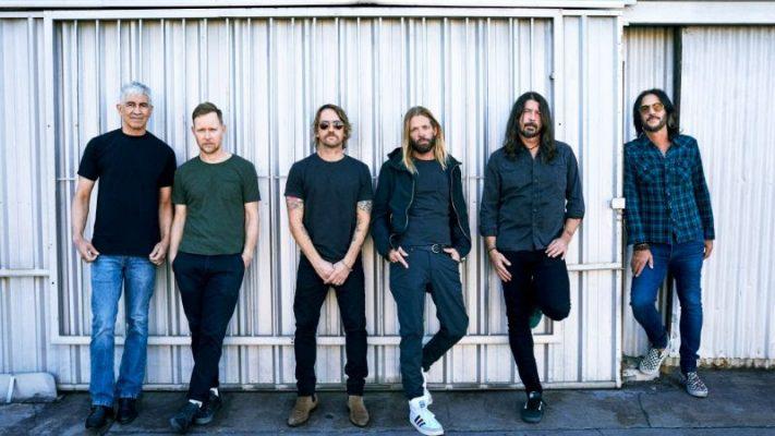 Imagen del grupo estadounidense de rock Foo Fighters