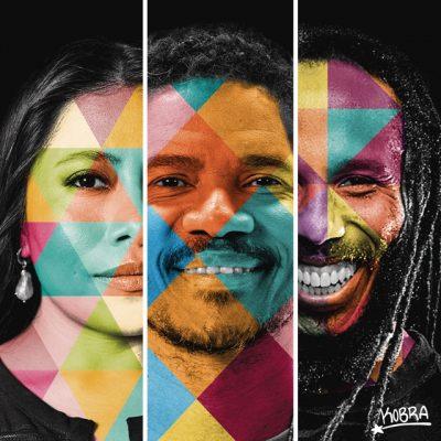 Portada de la canción America Vibra con Natirusm Ziggy Marley y Yalitza Aparicio