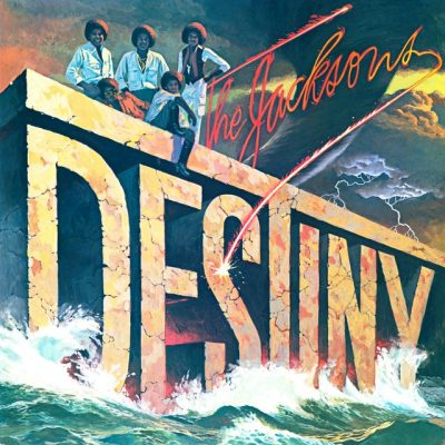 Portada de edición digital de Destiny de The Jacksons