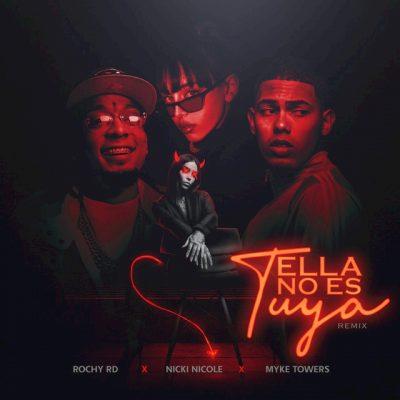Portada de Ella No Es Tuya (Remix)