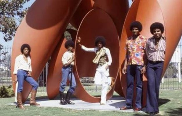 Imagen de la agrupación The Jacksons_foto de Gregg Cobarr