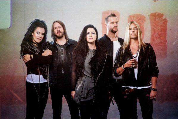 Imagen del grupo estadounidense de rock Evanescence