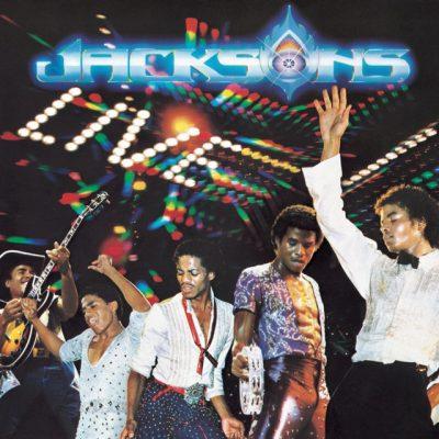 Portada de The Jacksons Live! Doble vinilo