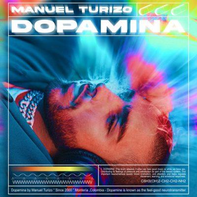 Portada del álbum Dopamina de Manuel Turizo