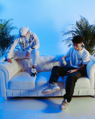 Imagen del dúo de música urbana Funzo y Baby Loud