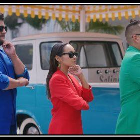 "Imagen del videoclip de ""De los pies a la cabeza del grupo mexicano Matisse"