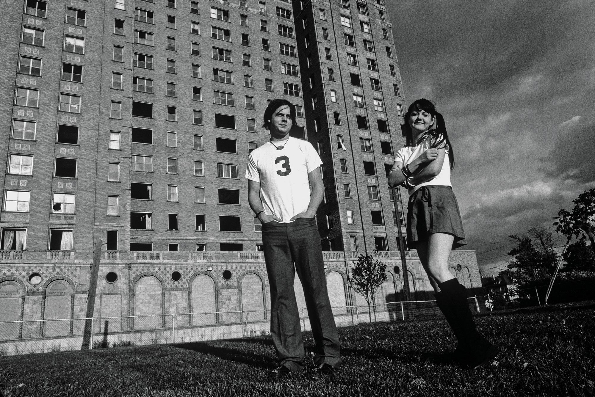 Foto de la banda The White Stripes