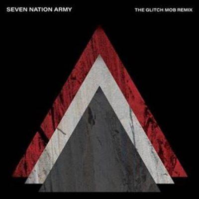 """Portada del single de The White Stripes """"Seven Nation Army (The Glitch Mob Remix)"""""""