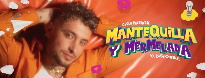 """Imagen del single """"Mantequilla y Mermelada"""" de Cyclo"""