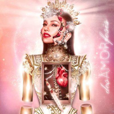Portada del álbum desAMORfosis de Thalía