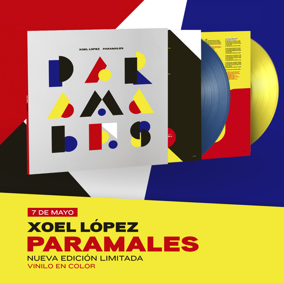 Paramales (vinilo color)