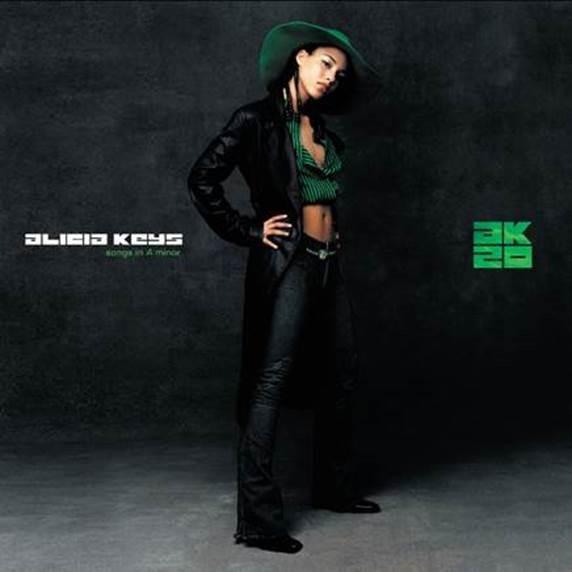 """Alicia Keys celebra 20 años del lanzamiento de su icónico álbum debut """"Songs in A Minor"""""""