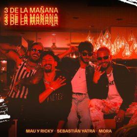 """Portada de """"Tres de la mañana"""" de Mau y Ricky_Yatra_Mora"""