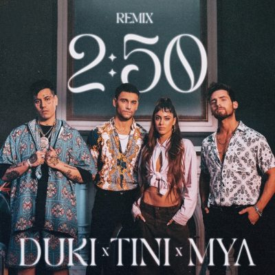 Portada de 2:50 Remix de MYA_Tini_Duki