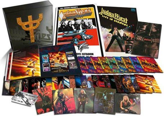 Imagen con bodegón de Judas Priest 50 heavy metal years
