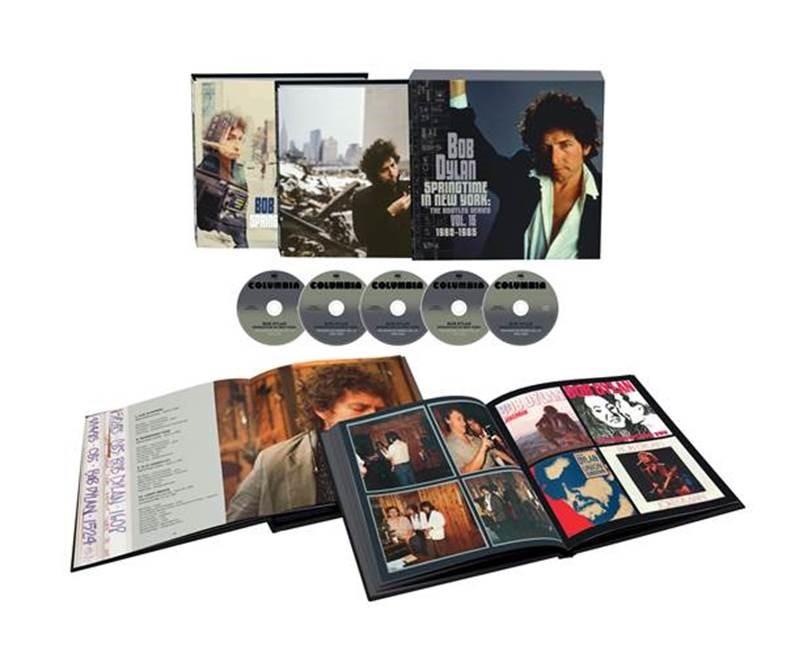 """""""Bob Dylan – Springtime in New York: The Bootleg Series, Vol. 16 (1980-1985)"""" a la venta el viernes 17 de septiembre"""