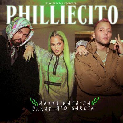 Portada de Philliecito de Natti Natasha, Brray y Nio García