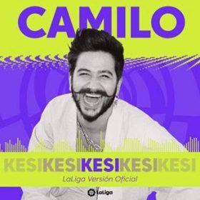 Portada de KESI de Camilo versión oficial de LaLiga