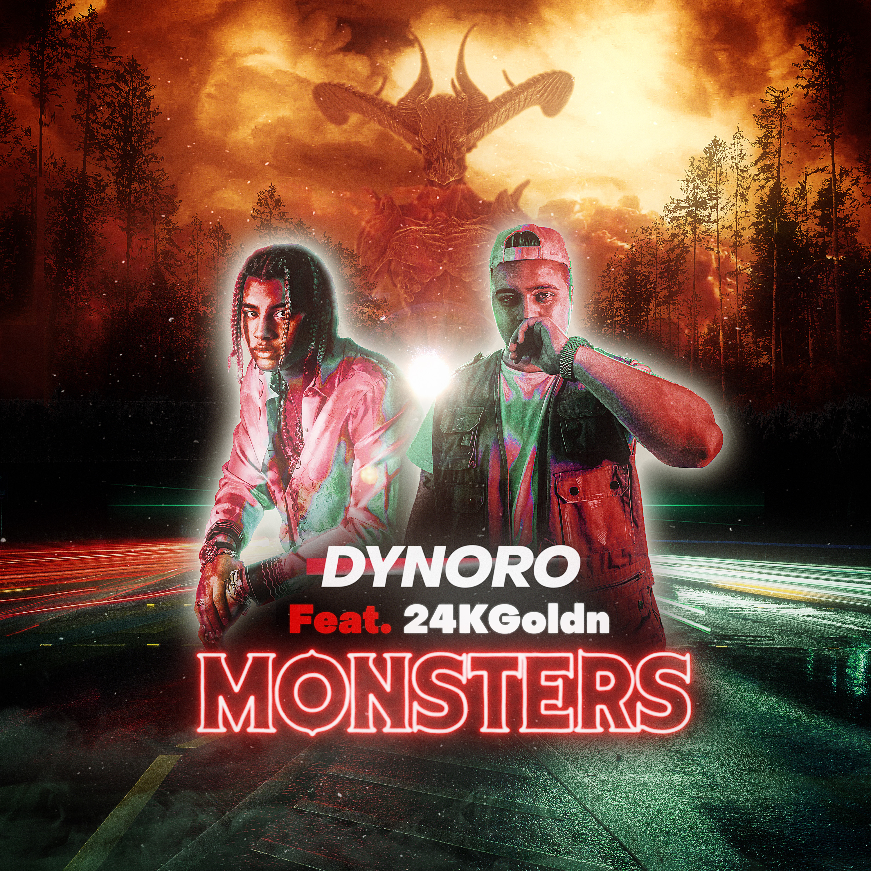 Dynoro featuring 24kGoldn – 'Monsters'.