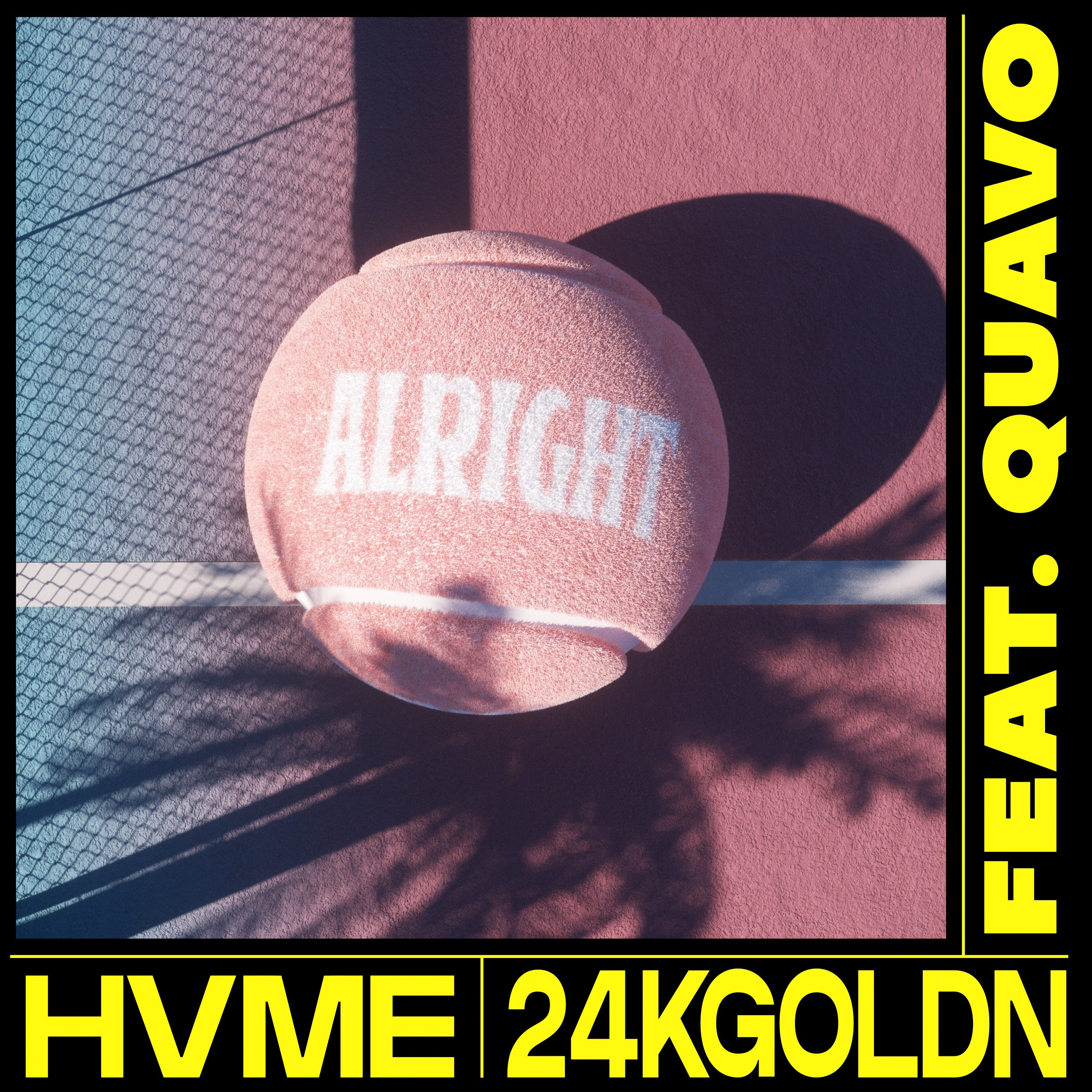 """HVME and 24kGoldn link up for """"Alright"""" featuring Quavo"""