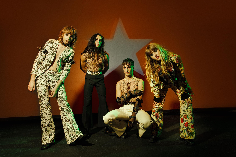 "Måneskin present new ""I Wanna Be Your Slave"" Version with Iggy Pop"