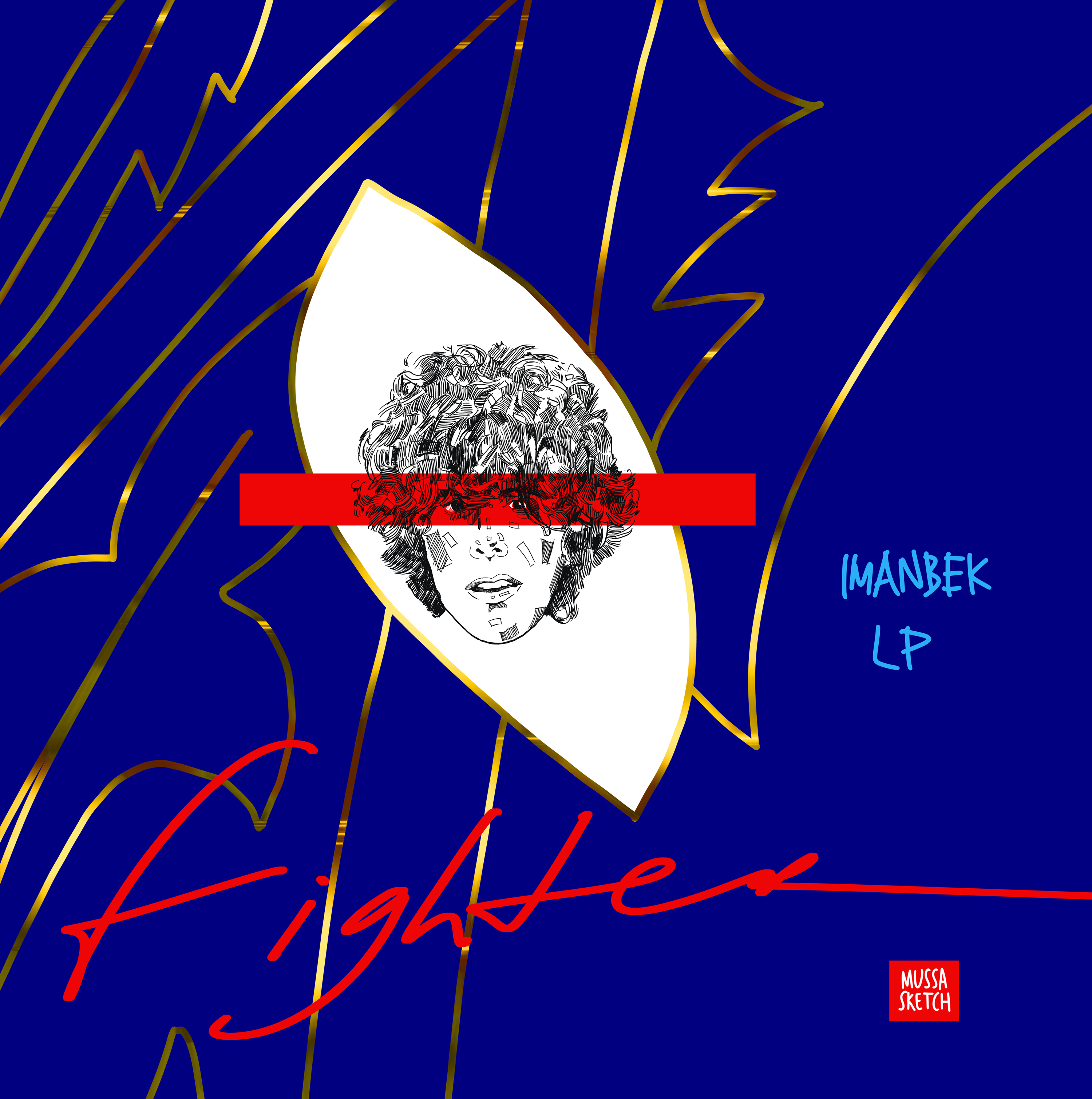 DJ Imanbek and multiple platinum selling singer-songwriter LP release their first single together, 'Fighter'.