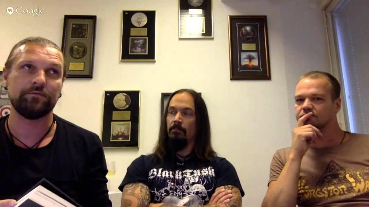 AMORPHIS - Live Fan Q&A w/ Esa Holopainen, Tomi Joutsen, & Tomi Koivusaari
