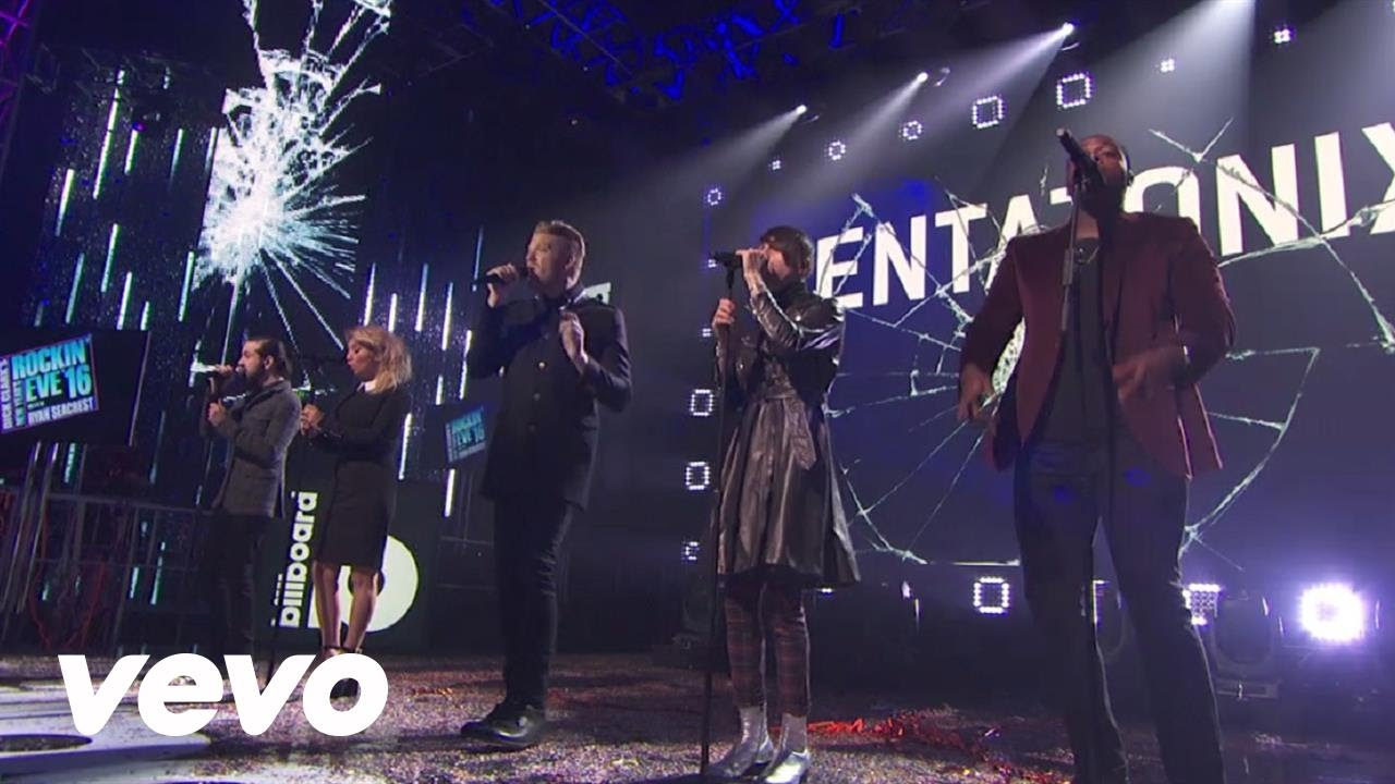 Pentatonix - Cracked (Live at New Year's Rockin Eve)