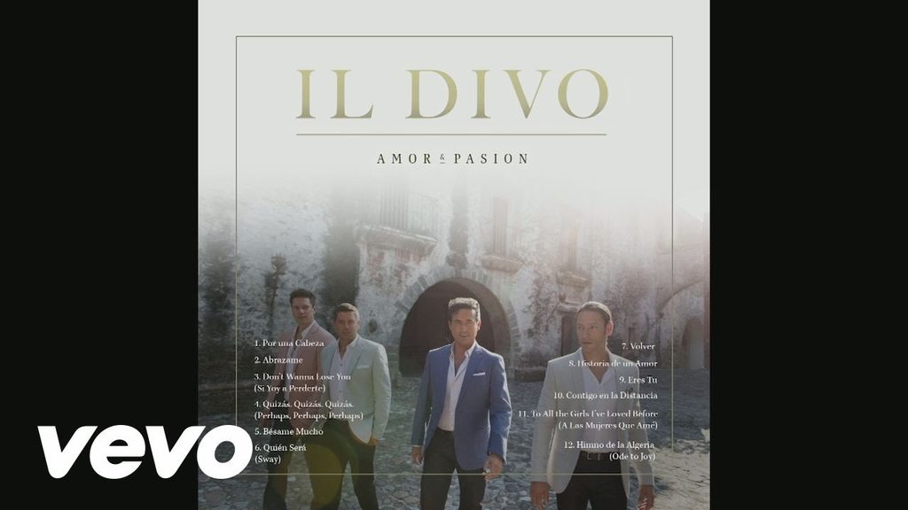 Il divo amor pasion album sampler sony music - Il divo songs ...
