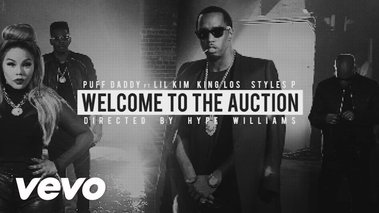 Puff Daddy & The Family - Behind the Scenes of Auction ft. Lil' Kim, Styles P, King Los