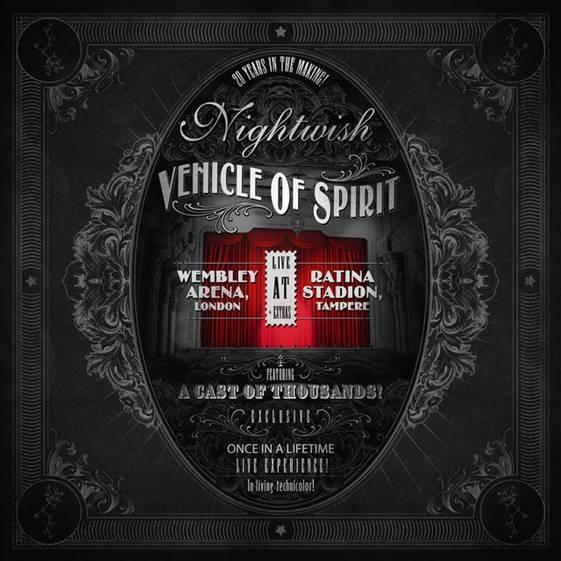 """Nightwish julkaisee live DVD:n """"Vehicle Of Spirit"""" marraskuussa"""