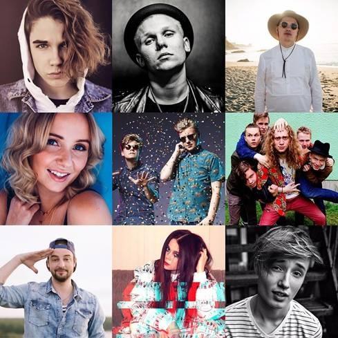 Näe Sony Musicin kuumat artistit Tubeconissa