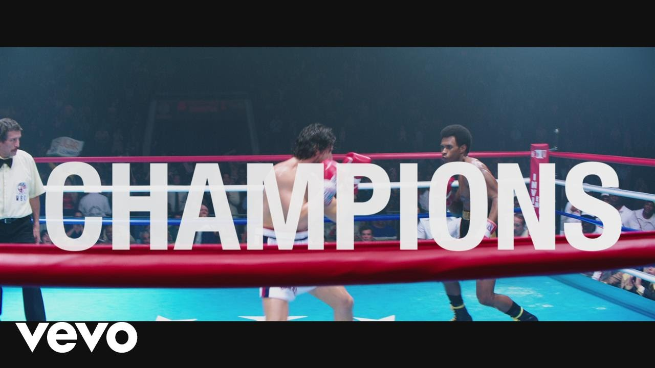 """Usher - Champions (from the Motion Picture """"Hands Of Stone"""")[Lyric Video]"""