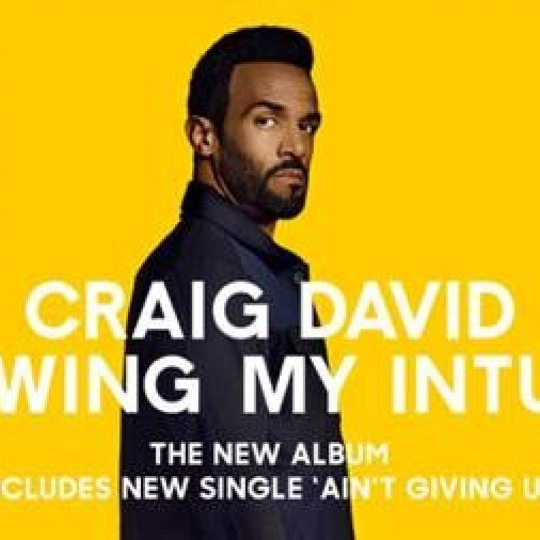Craig David todistaa, että oman intuition seuraaminen kannattaa