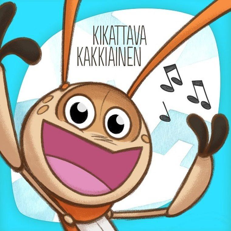 Havunhelman metsästä kuuluu kummia – Lasten suursuosikki Kikattava Kakkiainen julkaisi oman biisin!