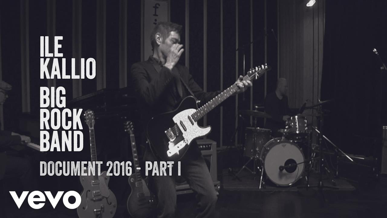 Ile Kallio Big Rock Band - Documentary 2016, Part 1