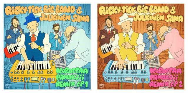 Ricky-Tick Big Band & Julkinen Sana aloittaa konserttisalikiertueen ja julkaisee kaksi remix-EP:tä