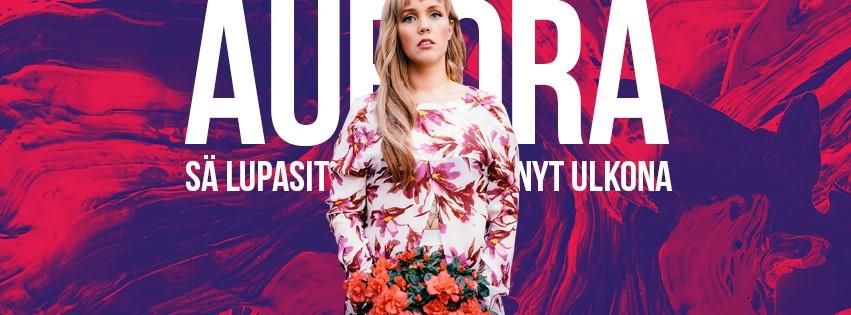 Auroralta uusi tummasävyinen kappale – kakkosalbumi Valtakunta julkaistaan helmikuussa