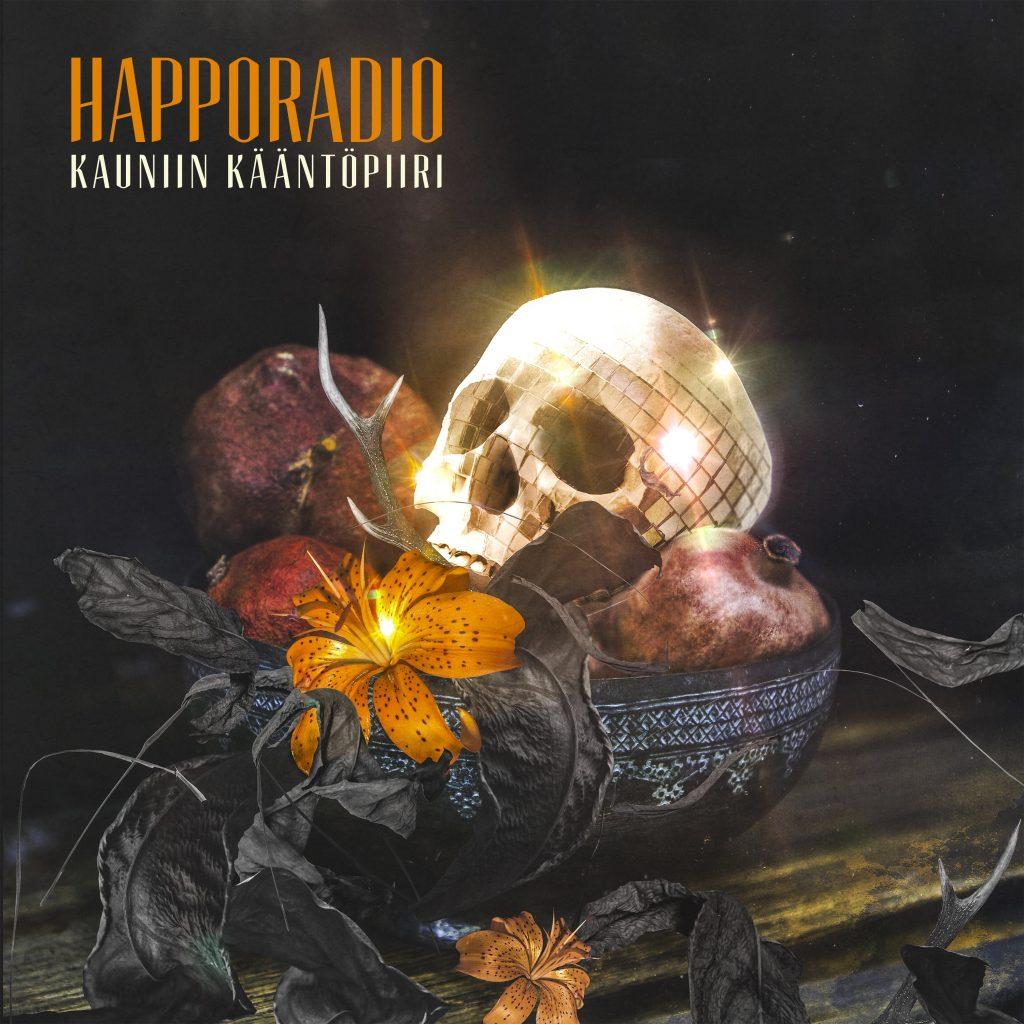Happoradion uutukainen suoraan Suomen virallisen albumilistan ykköseksi
