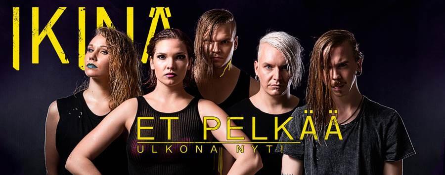 Sakara Records-kiinnitys IKINÄ herkistyy uudella sinkulla ja ravistelee heviskeneä debyyttialbumillaan