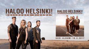 """Haloo Helsinki! julkaisee perjantaina odotetun uuden albumin """"Hulluuden Highway"""""""